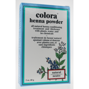 COLORA HENNA POWDER 60G NEUTRAL
