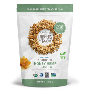 GRANOLA CHANVRE 312G ONE DEGREE