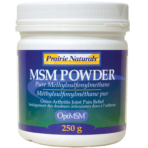 MSM POWDER 250G PRAIRIE