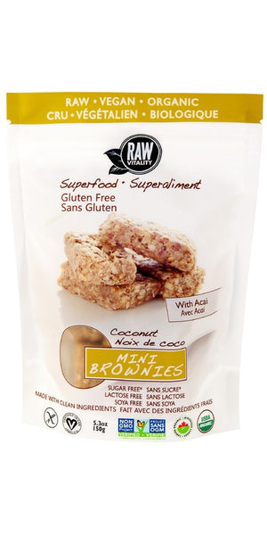 BROWNIE MINI 150G SUPERFOOD COCONUT