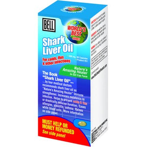 SHARK LIVER OIL 90CAP BELL