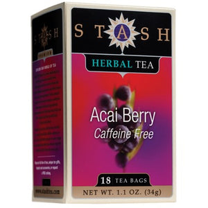TEA STASH ACAI BERRY 18BAG