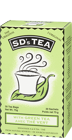 TEA SD'S WITH GREEN TEA 30'S