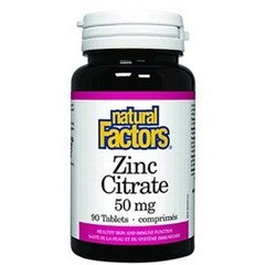 ZINC CITRATE 50MG 90TAB.NAT.