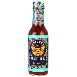 HOT SAUCE 141G TRADITIONAL SIETE