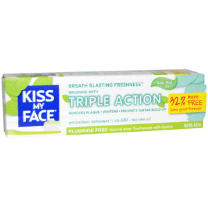 TOOTHPASTE 127G TRIPLE ACTION MINT GEL KMF