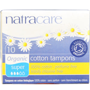 TAMPONS 10SUPER ORG NATR