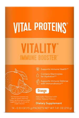 COLLAGEN VITALITY IMMUNITY 15G ORANGE