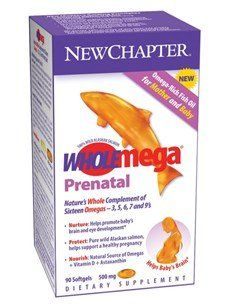 WHOLEMEGA 500MG 90C PRENATAL