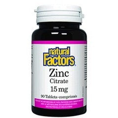 ZINC CITRATE 15MG 90TAB.NAT.