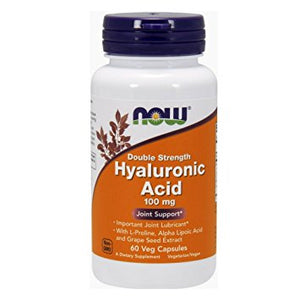 HYALURONIC ACIDE 60CAP 100MG