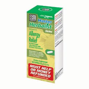 ALLERGY RELIEF 30CAP BELL