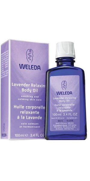 BODY OIL 100ML LAVENDER WELE