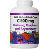 C-500 180TAB BLUEBERRY RASPB