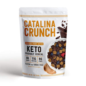 KETO CEREAL 255G CHOCO PEANUT BUTTER