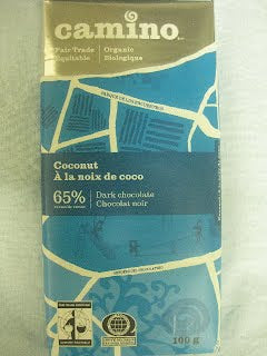 BAR CHOC.100G COCONUT