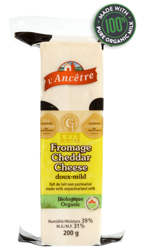 FROMAGE CHEDDAR 200G DOUX