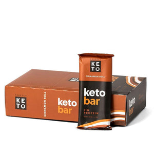 KETO BAR 12*45G CINNAMON ROLL