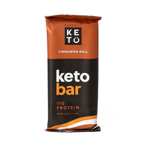 KETO BAR 45G CINNAMON ROLL