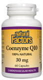 CO-Q10 30MG 60CAP.NAT.FACTOR