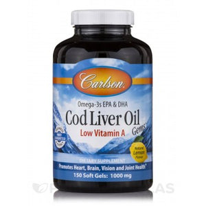 COD LIVER OIL 150CAP. LEMON