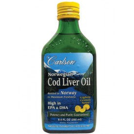COD LIVER OIL 250ML LEMON