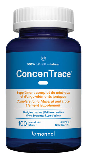 CONCEN TRACE 100TAB HEALTH S