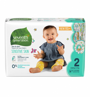 DIAPERS #2 5-8KG SEVENTH