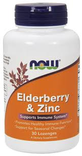 ELDERBERRY & ZINC 30 LOZENGES NOW