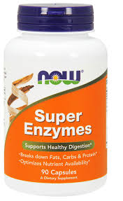 ENZYMES SUPER 90CAP.NOW