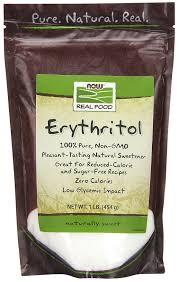 ERYTHRITOL 454G NOW