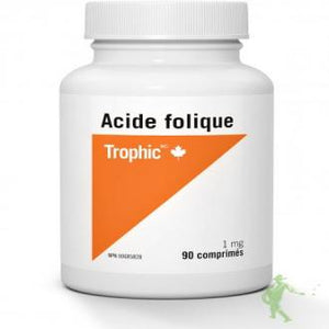 ACIDE FOLIQUE 90CAP.TROPHIC