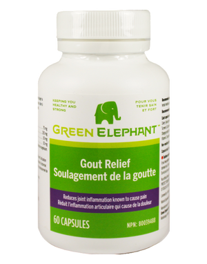 GOUT RELIEF 60VCAP GREEN