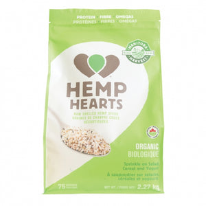 HEMP HEARTS 2.27KG RAW ORG