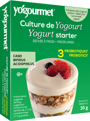 CULTURE YOGOURT PROBIOTIC 30G