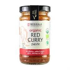 CURRY RED PASTE 100G BIO MEKHALA