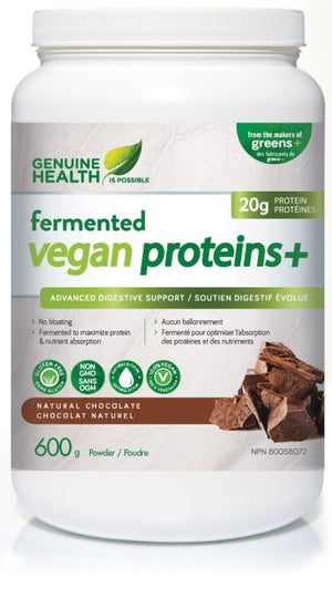 VEGETAL PROTEIN FERMENTED CHOCOLATE 600G