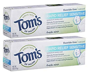 TOOTHPASTE 76M FRESH MINT TOM'S RAPID RELIEF SENSITIVE