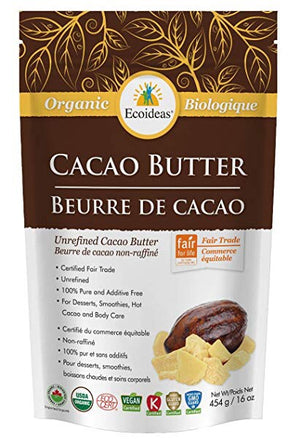 CACAO BUTTER BIO 454g