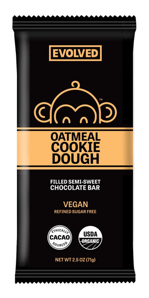 BAR CHOC.EN 71G OATMEAL COOKIE DOUGH