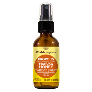 MANUKA PROPOLIS SPRAY 30ML LEMON GINGER