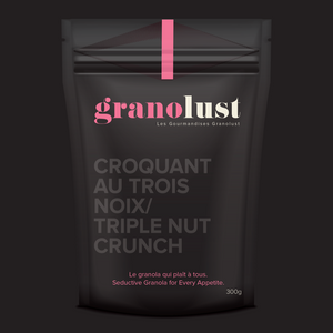 GRANOLA TRIPLE NUT CRUNCH 300G