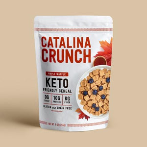 CEREAL CRUNCH 255g KETO MAPLE WAFFLE