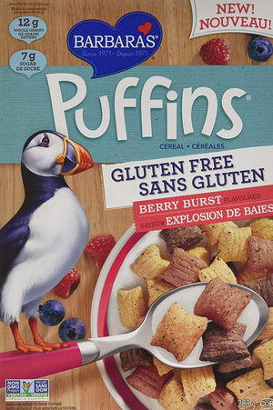 CEREAL PUFFINS 283G BERRY EXPLOSION