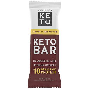 PERFECT KETO BAR 45 g ALMOND BUTTER BROWNIE