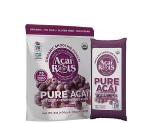 ACAI UNSWEETENED 4*100G ACAI ROOTS