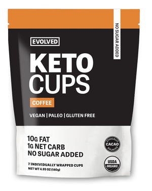 CUP KETO 140G COFFEE