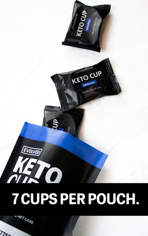 KETO CUPS ORIGINAL 147g