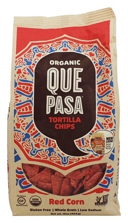 TORTILLA CHIPS 425G ROUGE (red)