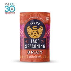 TACO SEASONING SPICY 37G SIETE